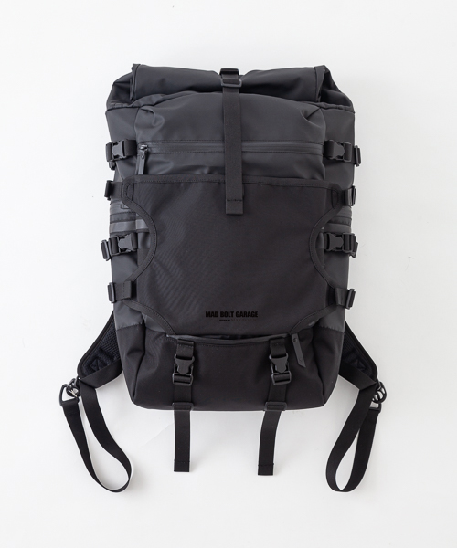 MBG Design by MAKAVELIC  ROLL TOP DAYPACK
