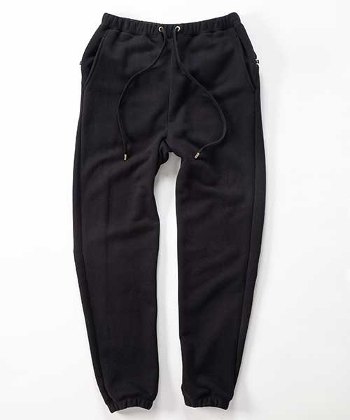 WATER PROOF ZIP SWEAT PANTS