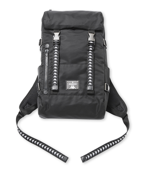 【SALE】MAKAVELIC×Kappa DOUBLE BELT BACKPACK