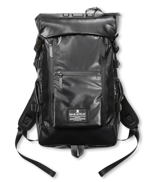 【SALE】DOUBLE LINE BACKPACK BLACK EDITION