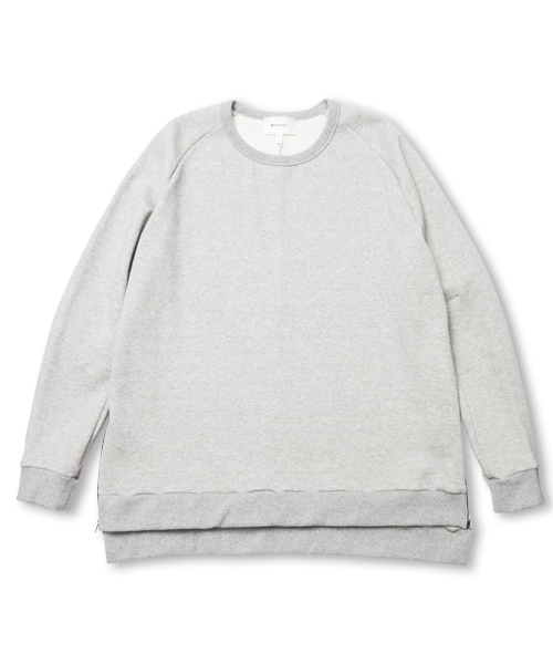 【SALE】TWO ZIPS SWEAT SHIRT GRAY