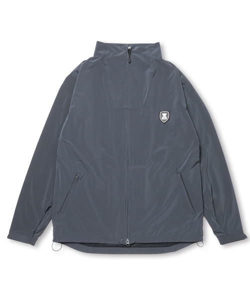 【SALE】EMBLEM NYLON JACKET NAVY