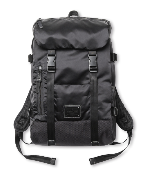 EXCLUSIVE DOUBLE BELT DAYPACK ZONE MIX