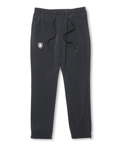 【SALE】EMBLEM NYLON PANT BLACK