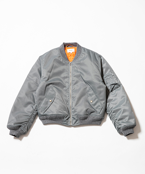 NYLON BOMMER JACKET