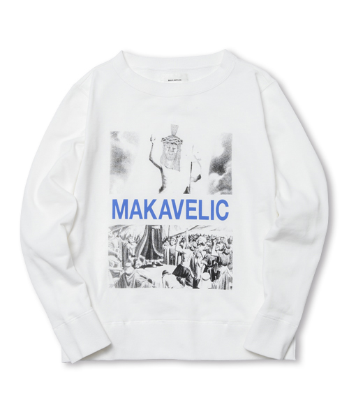 【SALE】JESUS CREW NECK SWEAT SHIRTS