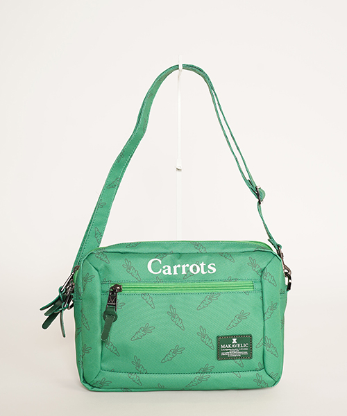 【MAKAVELIC×Carrots】 BILAYER POUCH BAG /ポーチバック