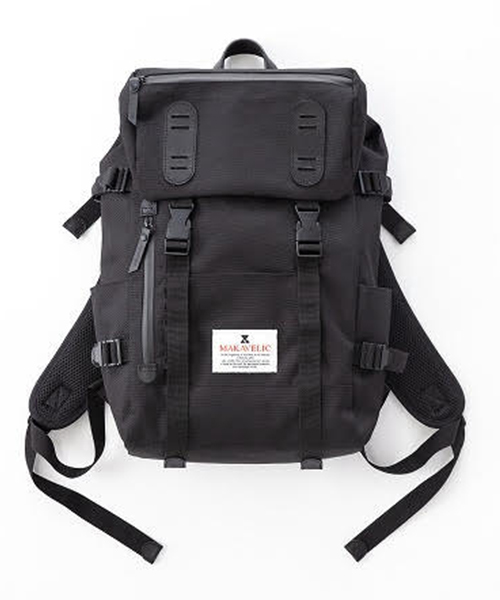 MAKAVELIC x MARKET THE END LIMITED DOUBLEBELT DAYPACK